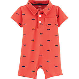 carter's® Car Polo Romper in Red