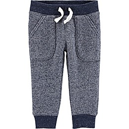 carter's® Marled Yarn Pull-On Pant in Navy