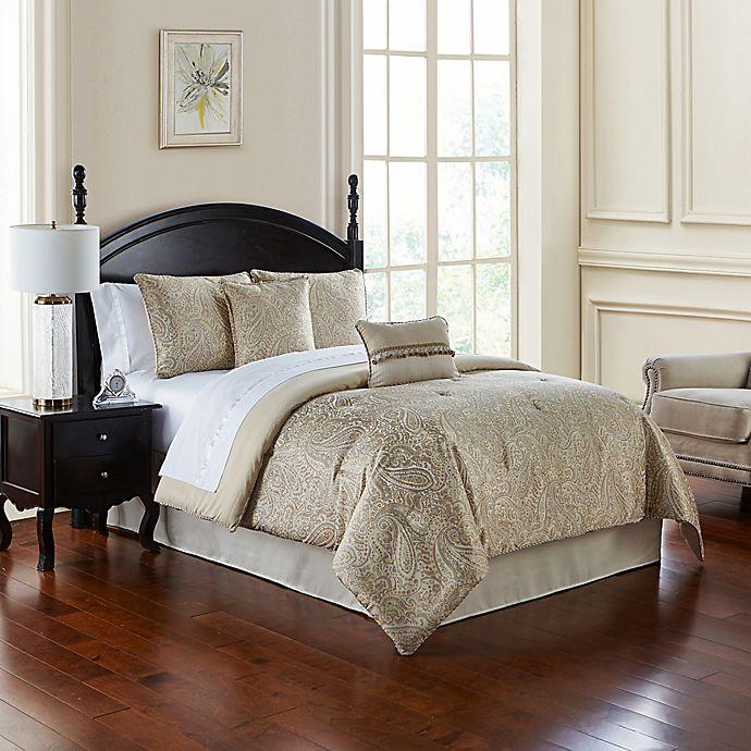 Waterford 174 Landon Comforter Set Bed Bath Amp Beyond