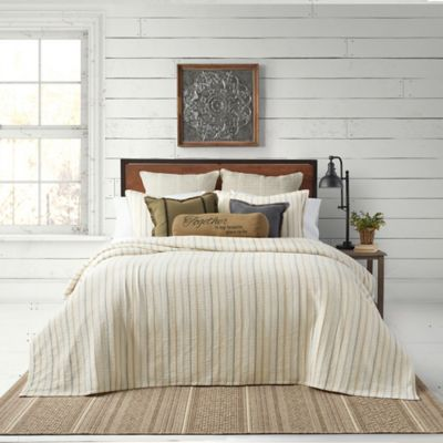 Bee Amp Willow Home Yarn Dye Stripe Coverlet Set Bed Bath