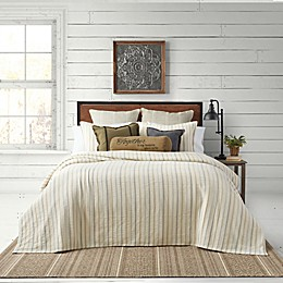 Bee & Willow™ Home Yarn Dye Stripe Coverlet Set
