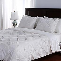 Berkshire Blanket® Pleated Suedemink™ Comforter Set