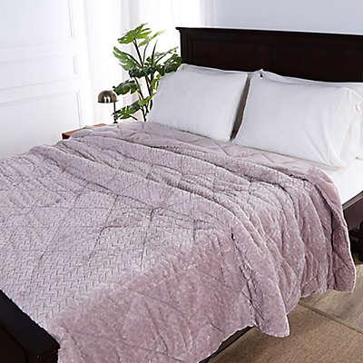 Berkshire Blanket® Braided VelvetLoft® Reversible Comforter