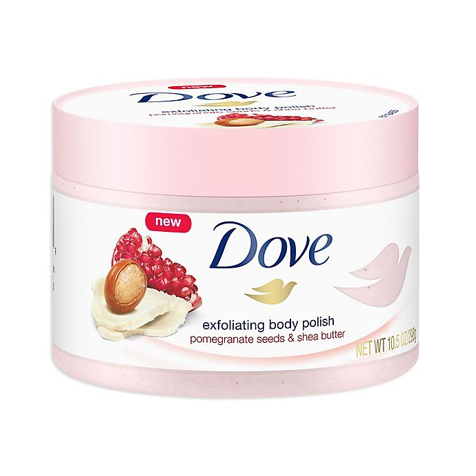 Dove 10 Oz Exfoliating Body Polish In Pomegranate Seeds And Shea Butter Bed Bath Beyond