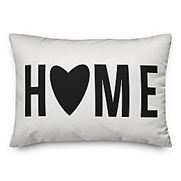 Designs Direct Home Heart Rectangular Throw Pillow