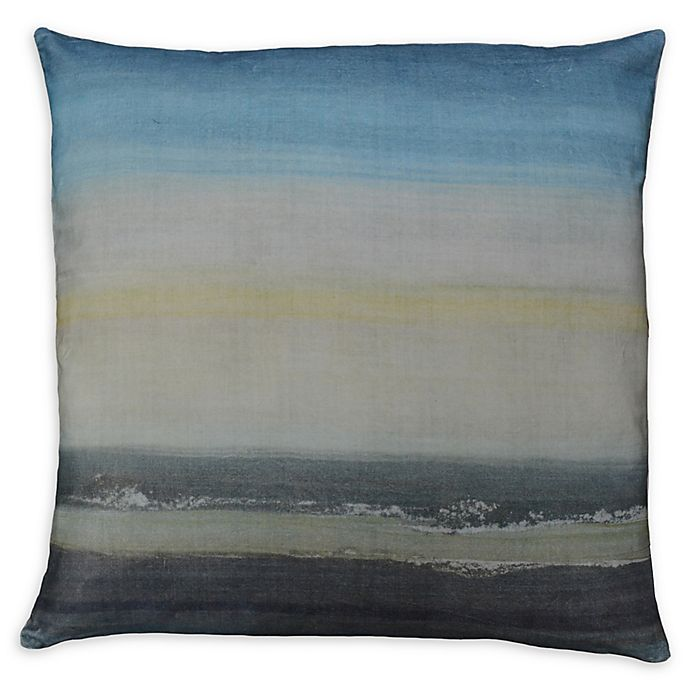 Alternate image 1 for Moe's Home Collection Square Throw Pillow in Grey/blue