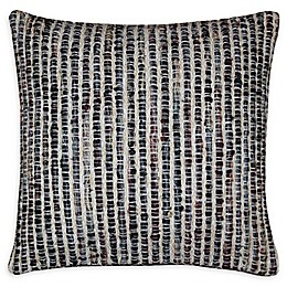 Moe's Home Collection Square Throw Pillow in Black