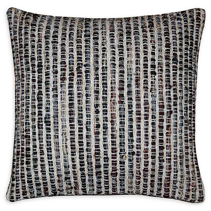 Alternate image 1 for Moe's Home Collection Square Throw Pillow in Black