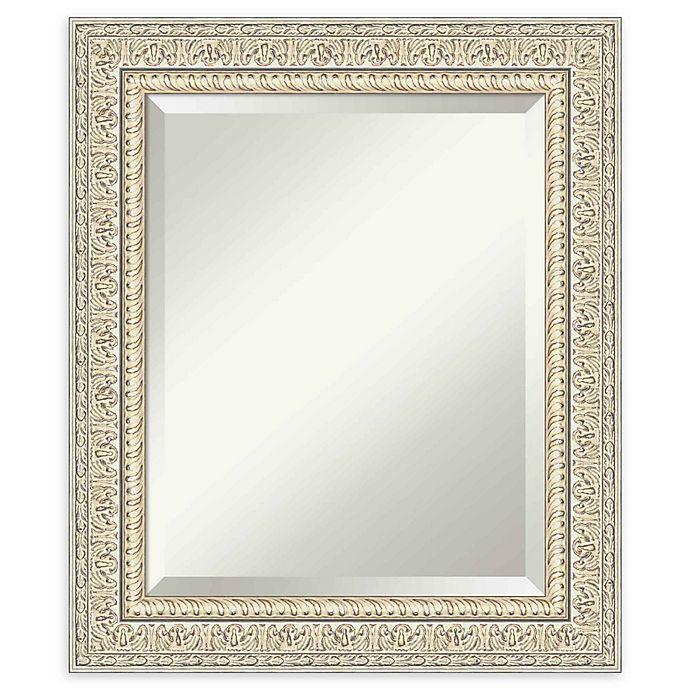 Amanti Art Fair Baroque Cream Framed, Decorative Wall Mirrors Bed Bath And Beyond