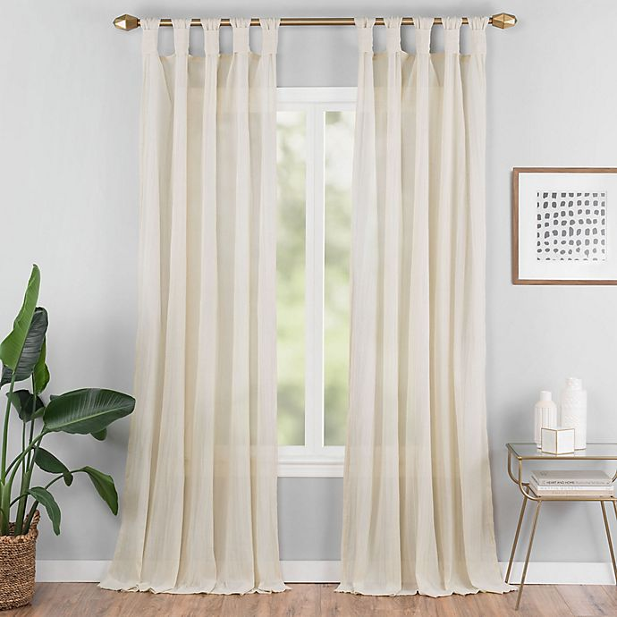 Alternate image 1 for Priya Tab Top Window Curtain Panel (Single)