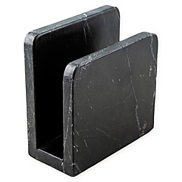 Thirstystone Resources® Marble Napkin Holder in Black