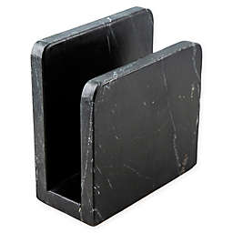 Thirstystone Resources® Marble Napkin Holder in Black