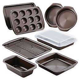 Circulon® Total Nonstick 10-Piece Bakeware Set in Chocolate