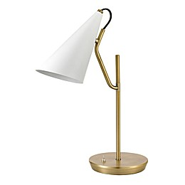 Globe Electric Reading/desk Lamp in Brass
