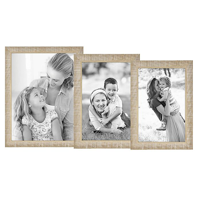 Alternate image 1 for Bee & Willow™ Home Rustic Wood Picture Frame in Acacia