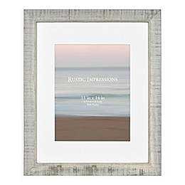 Bee & Willow™ Home 11-Inch x 14-Inch Wood Picture Frame with Mat