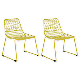 Acessentials® Wire Activity Chairs (Set of 2)