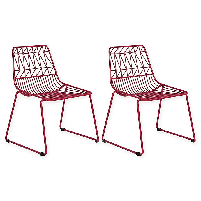 Alternate image 1 for Acessentials® Wire Activity Chairs (Set of 2)