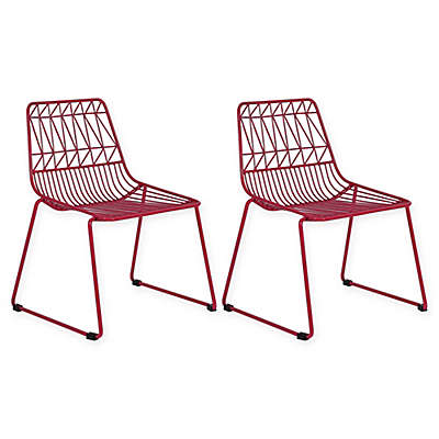 Acessentials® Wire Activity Chairs Chairs (Set of 2)