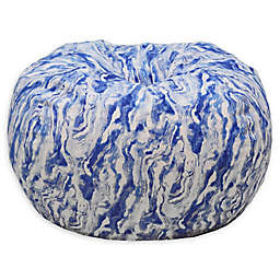 Acessentials® Upholstered Marble Bean Bag Chair
