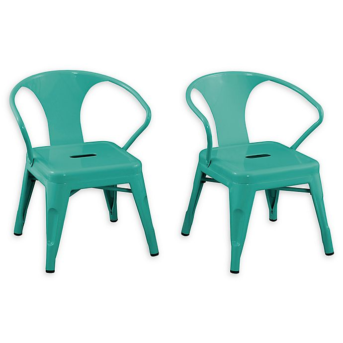 Alternate image 1 for Acessentials® Stacking Activity Chairs (Set of 2)