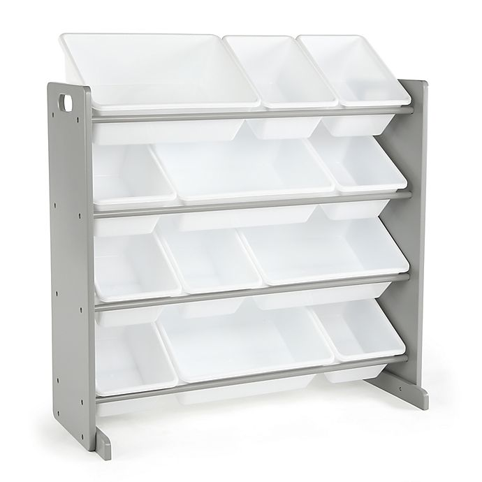 Alternate image 1 for Humble Crew Inspire 12-Bin Organizer in Grey and White