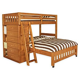 Discovery World Furniture™ Twin Over Full Loft Bed