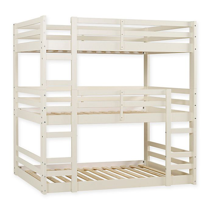 Alternate image 1 for Forest Gate 3-Level Triple Twin Bunk Bed