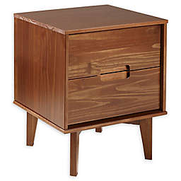 Forest Gate™ 2-Drawer Solid Wood Nightstand