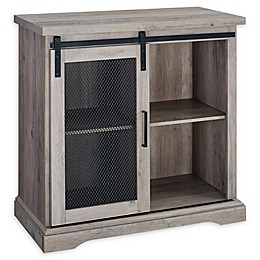 Forest Gate Farmhouse 32-Inch Sliding Mesh Door Buffet