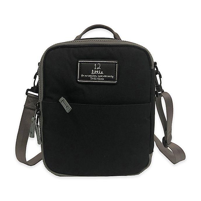 Alternate image 1 for TWELVElittle Adventure Lunch Bag in Black