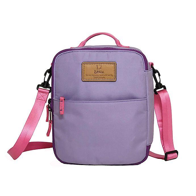 Alternate image 1 for TWELVElittle Adventure Lunch Bag in Lilac