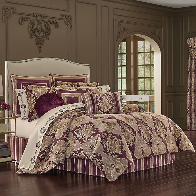 Alternate image 1 for J. Queen New York™ Amethyst Comforter Set