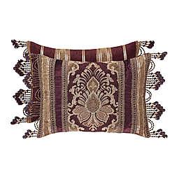 J. Queen New York™ Amethyst Boudoir Throw Pillow in Purple