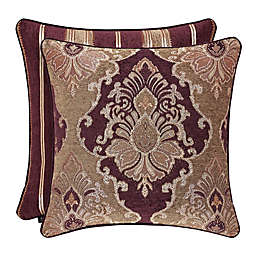 J. Queen New York™ Amethyst Square Throw Pillow