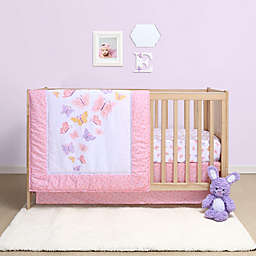 Belle Butterfly 4-Piece Crib Bedding Set