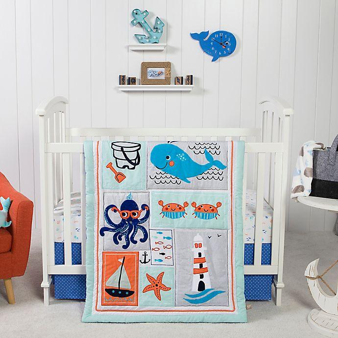 Alternate image 1 for Trend Lab® Ocean Pals 3-Piece Crib Bedding Set
