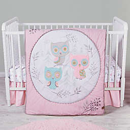 Trend Lab® 3-Piece Feathered Friends Crib Bedding Set