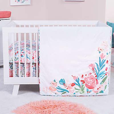 Trend Lab® Painterly Floral 3-Piece Crib Bedding Set