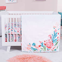 Trend Lab® Painterly Floral 3-Piece Crib Bedding Set