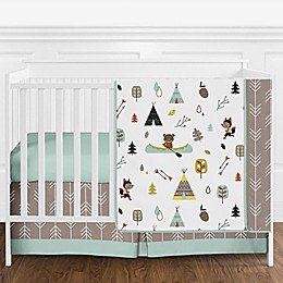 Sweet Jojo Designs Outdoor Adventure 4-Piece Crib Bedding Set