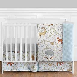 Sweet Jojo Designs Woodland Toile 4-Piece Crib Bedding Set
