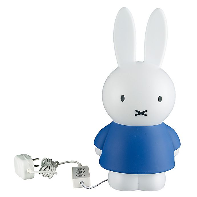 Alternate image 1 for Miffy LED Night Lamp with Auto-Dim Sleep Function