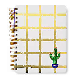 Gartner Studios® Marami Gold Grid Catcus Patch Journal
