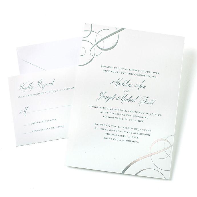 Gartner Silver Jacket invitation kit 25 count