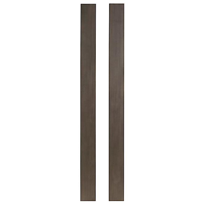 Alternate image 1 for Westwood Design Taylor Full Size Bed Rails in Dusk (Set of 2)