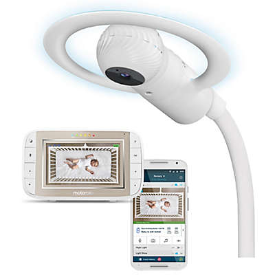Motorola Halo+ Over-the-Crib HD Wi-Fi Baby Monitor & Soother