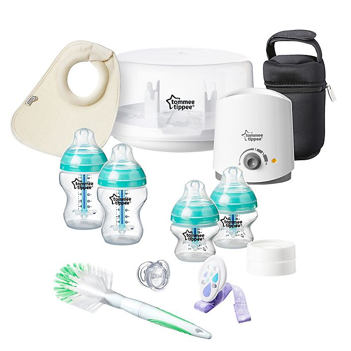 Alternate image 1 for Tommee Tippee® Advanced Anti-Colic Feeding and Soothing Gift Set
