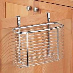 iDesign® Axis Over the Cabinet Basket Organizer in Chrome