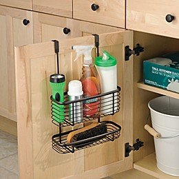 iDesign® Axis Over the Cabinet Basket Organizer